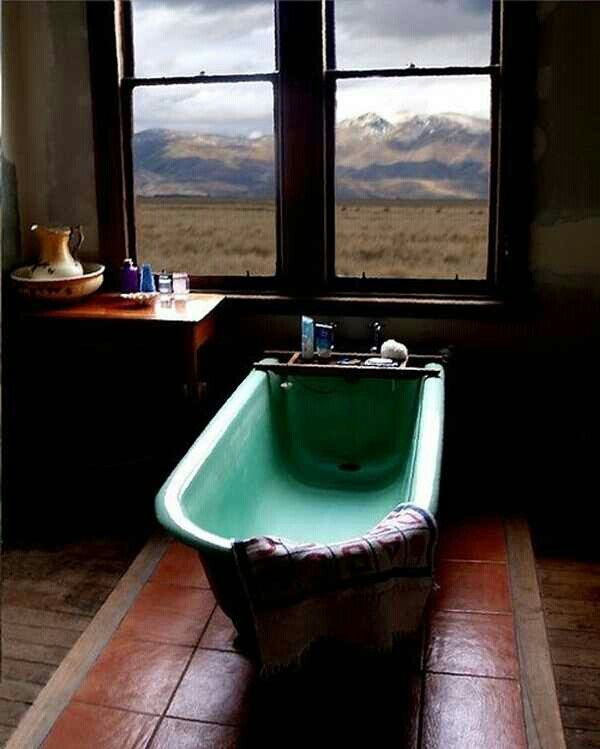 I would never leave the bathtub