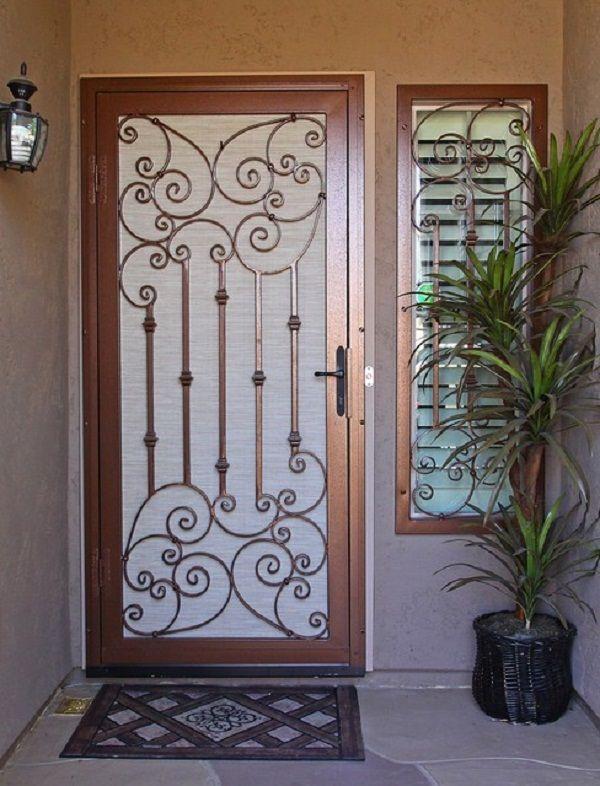 Metal Screen Door