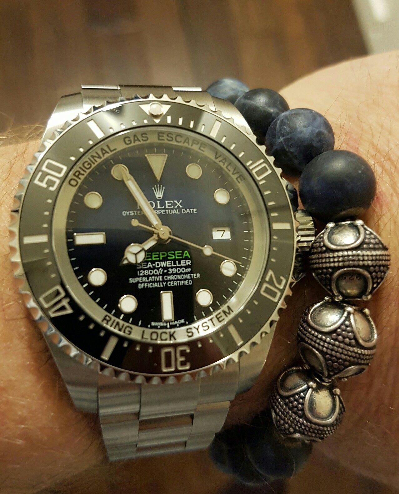 ac078758c17 Rolex Deepsea with blue dial | Tick tock | Pinterest