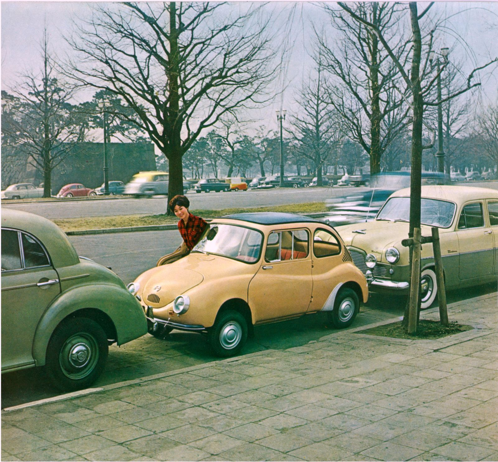 Subaru 360 1958 1971 1950s car pinterest subaru cars and subaru 360 1958 1971 vanachro Image collections