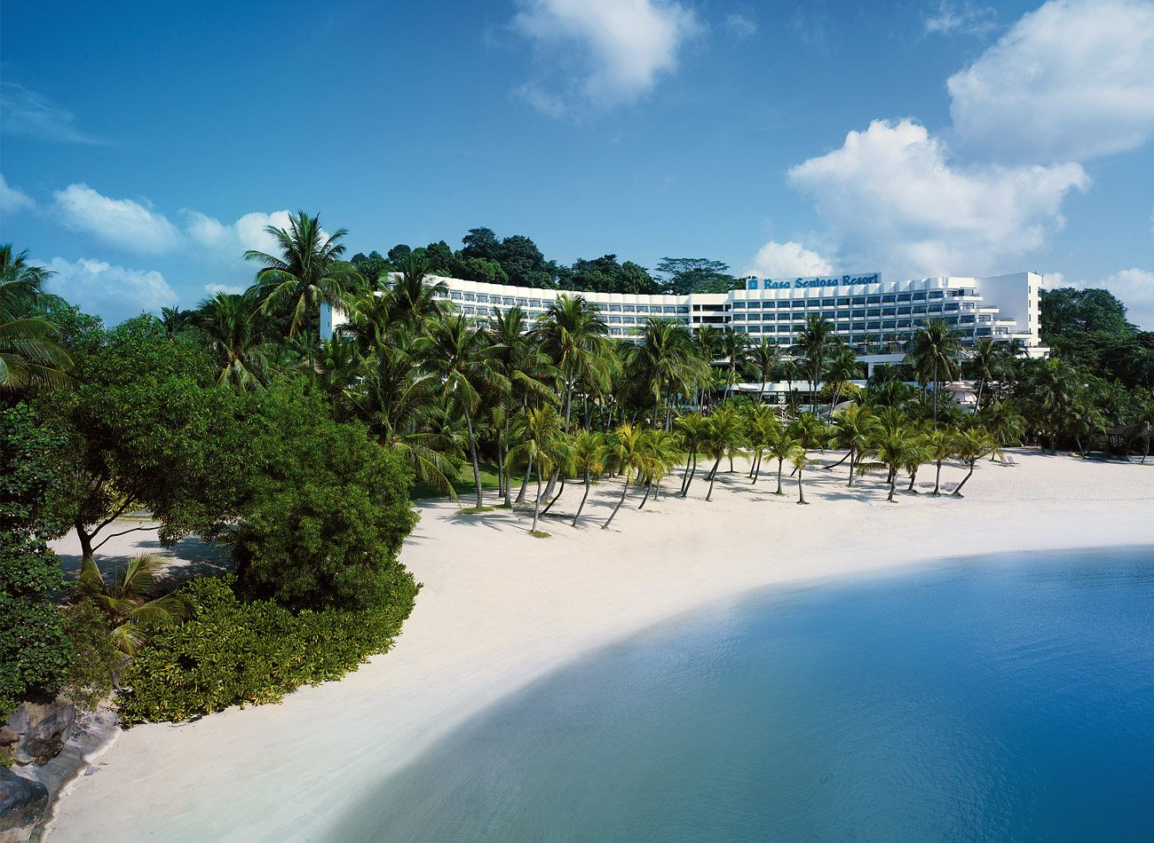 Shangri-La Rasa Sentosa - Swimming in the South China Sea. Tons for kids to do. Loved it.