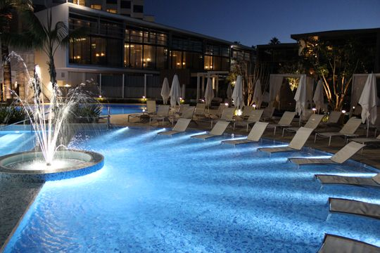 Great Pool Lighting Design With Wibre Pool Lights In Perth