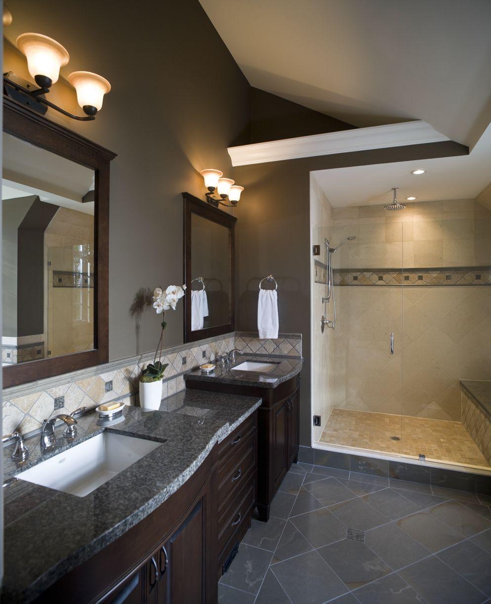 Benefits Of Remodeling Bathrooms Bathrooms Remodel Bathroom Remodel Master Gray Tile Bathroom Floor