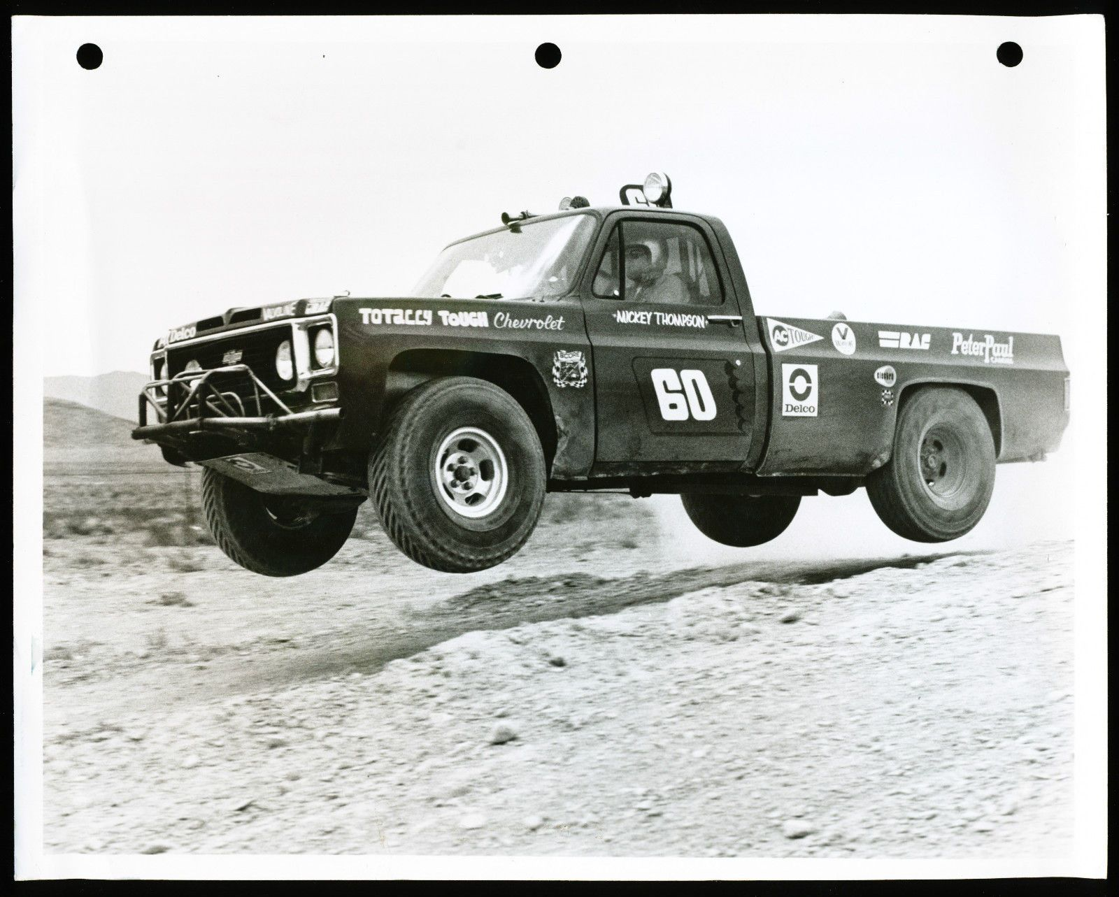 Mickey Thompson 1973 Chevy C10 Score Racer Beasts Of Burden 1955 Ford F100 With Thompsons