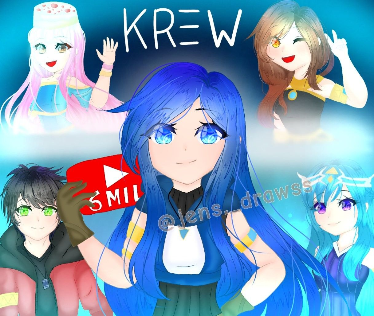 I Love Itsfunneh Best Youtuber Cute Anime Character My Little Pony Comic Cute Drawings