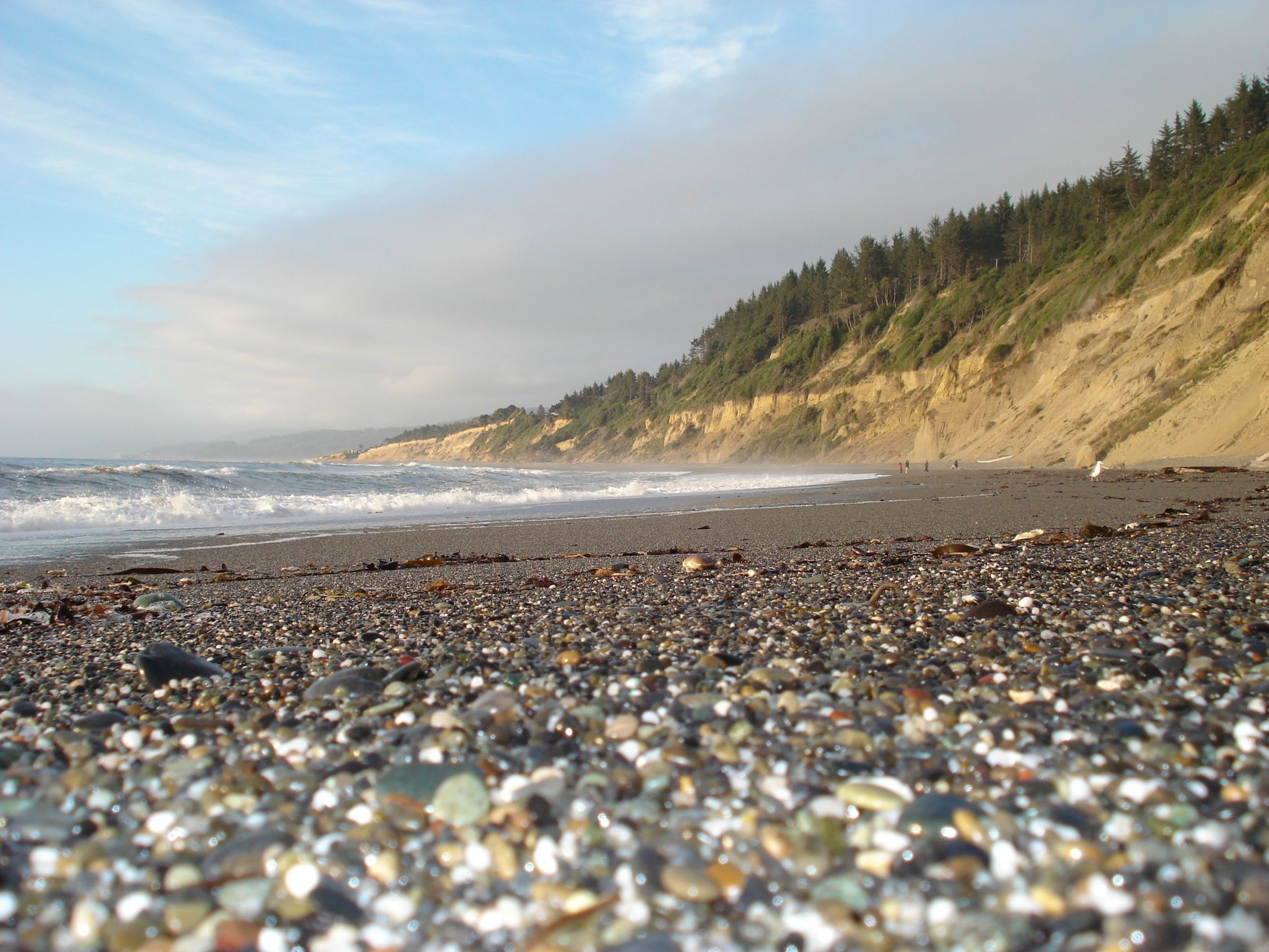 Agate Beach California Near Patrick S Point Campground Worms Eye View