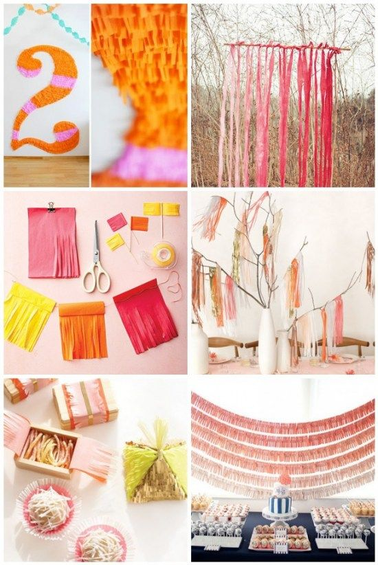 Fringed Paper Party