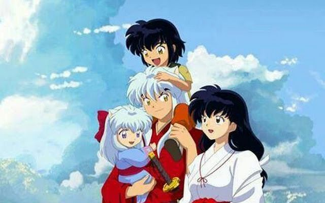 Aome and inuyasha family | kagome | Pinterest | Aome ... Inuyashas Family With Kagome