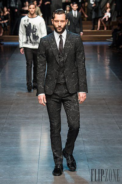Dolce & Gabbana Outono-Inverno 2015-2016 - Masculino