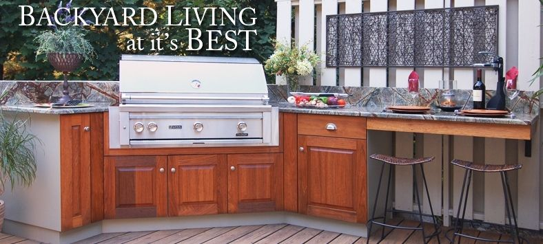 Outdoor Kitchens Using Indoor Cabinets   Google Search