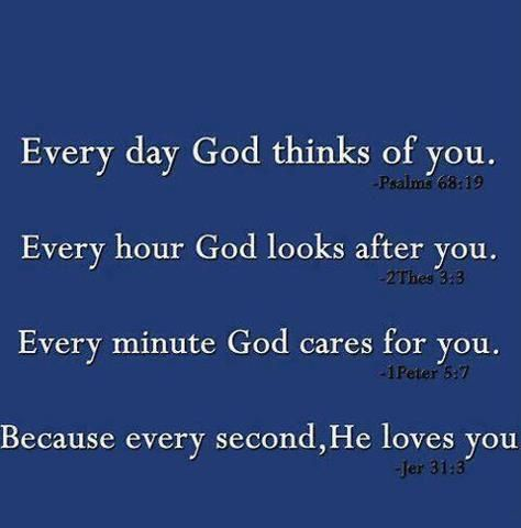 God Loves You 24/7 Bible verses & life quote Pinterest