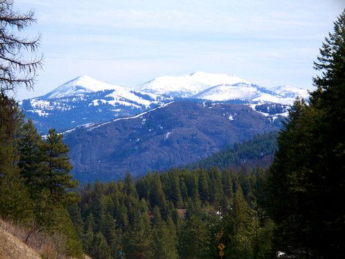 Kettle River Range includes 10 or so hikes close to Republic, WA, included in two of my hiking books.