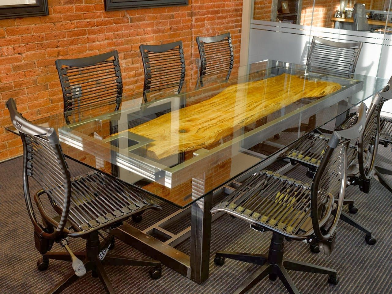 custom office tables. Furniture Inspirations: Custom Conference Tables Are Just Plain Cool! Office M