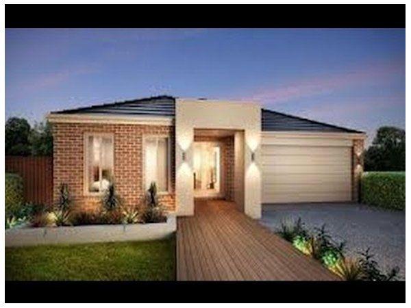 Dise os de frentes de casas modernas peque as de uno y dos for Modelos de construccion de casas modernas