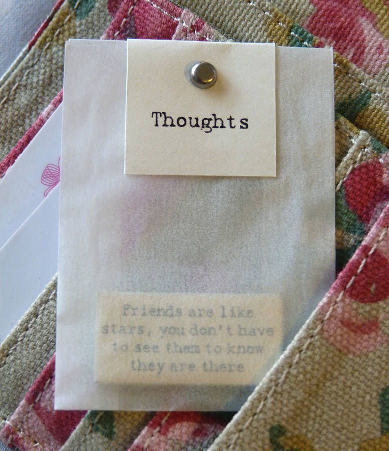 Wedding Favour Idea: Mini Message Tokens