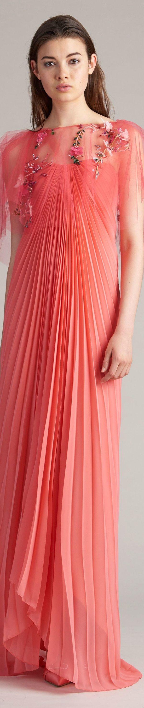Monique lhuillier resort gowns pinterest monique