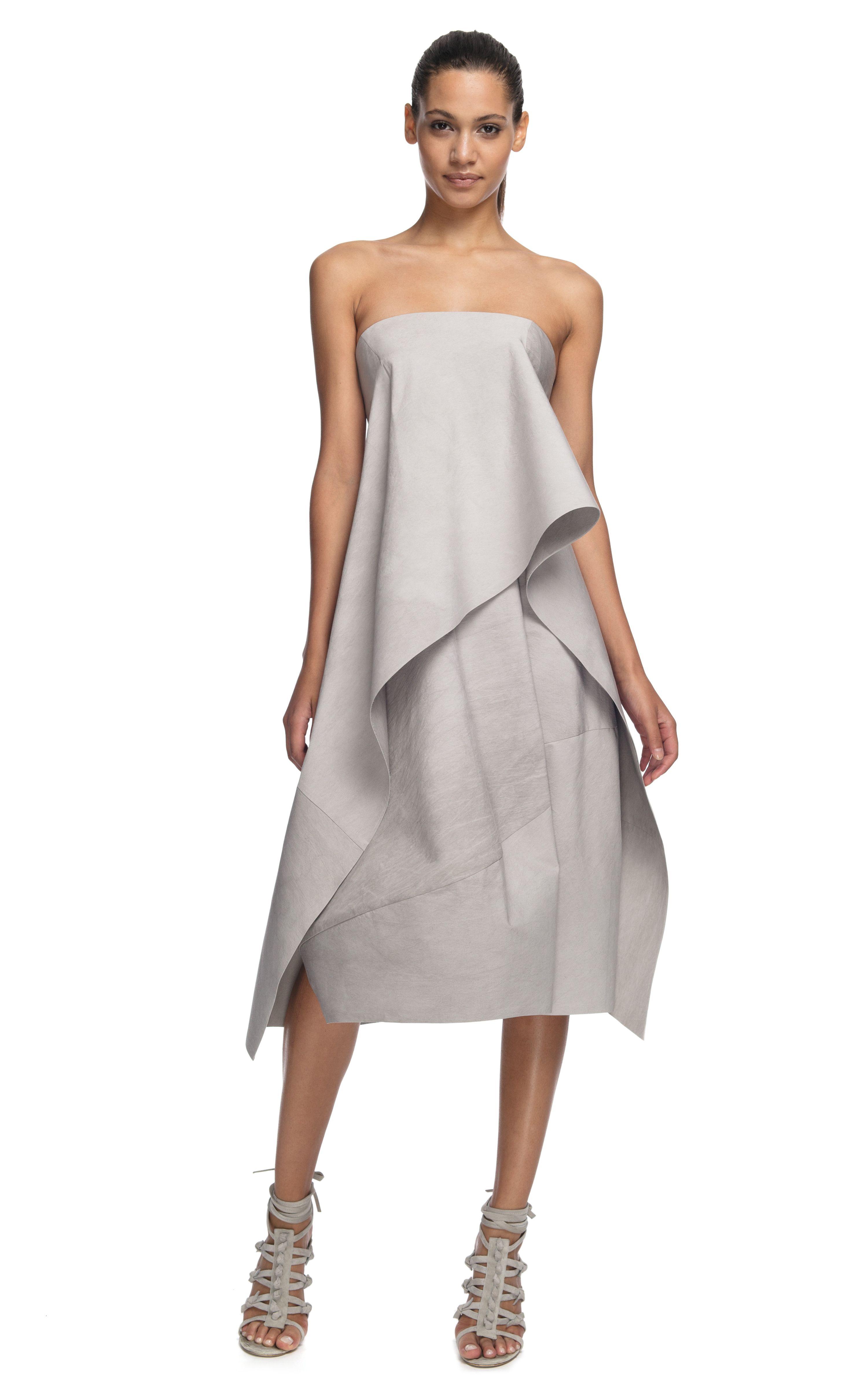 c0a8e544b78 Donna Karan - lovely strapless origami dress