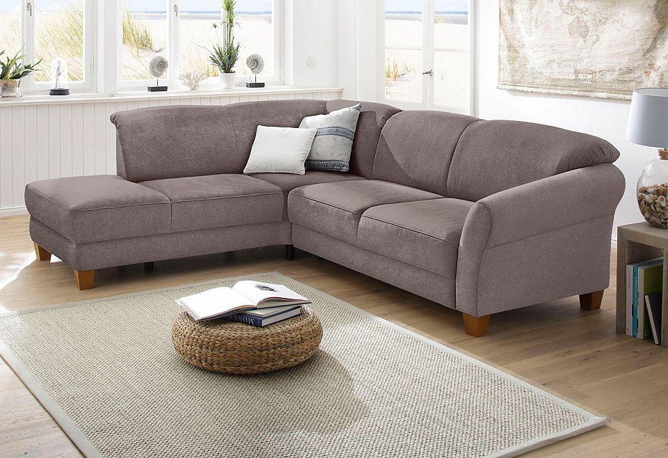 Perfect Home Affaire Polsterecke »Gotland«, Wahlweise Mit Sitztiefenverstellung +  Bettkasten Jetzt Bestellen Unter: