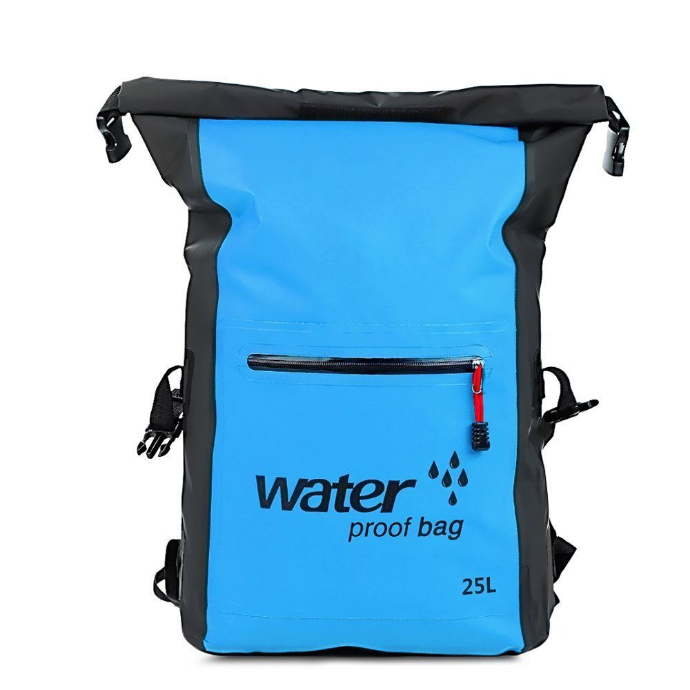 25L Sports Waterproof Dry Bag Backpack Floating Boating Kayaking Camping Cycling