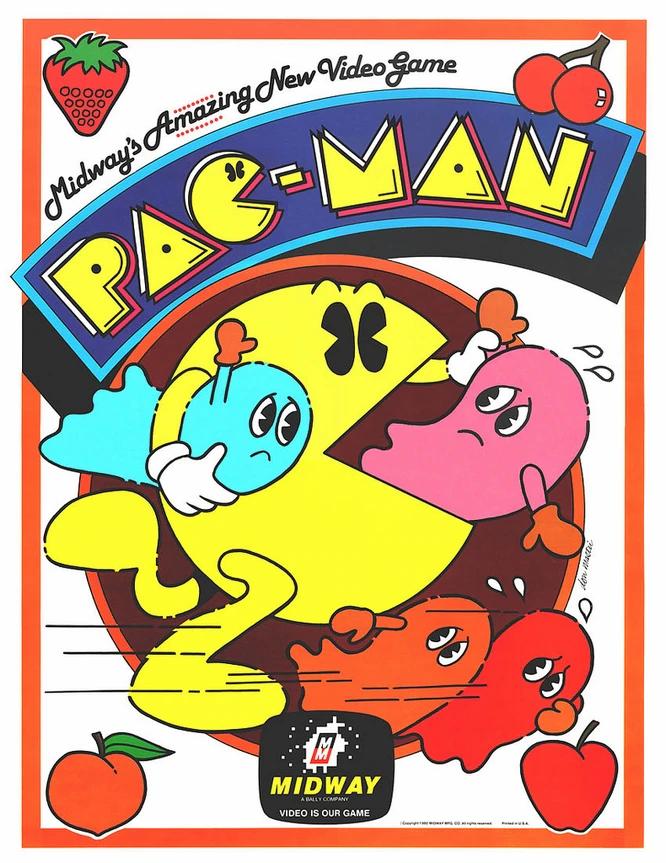 Pacman 8 Bit Game Vintage Video Games Retro Games Poster Retro Games Wallpaper Retro Poster