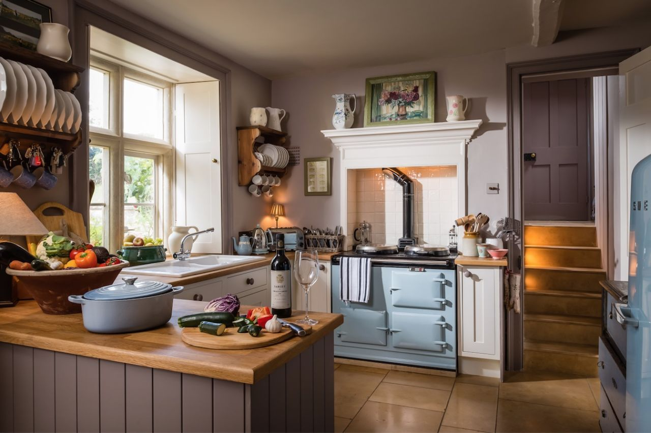 Darcy House stone cottage is your dream Cotswold home   Stone ... for English Stone Cottage Interior  174mzq