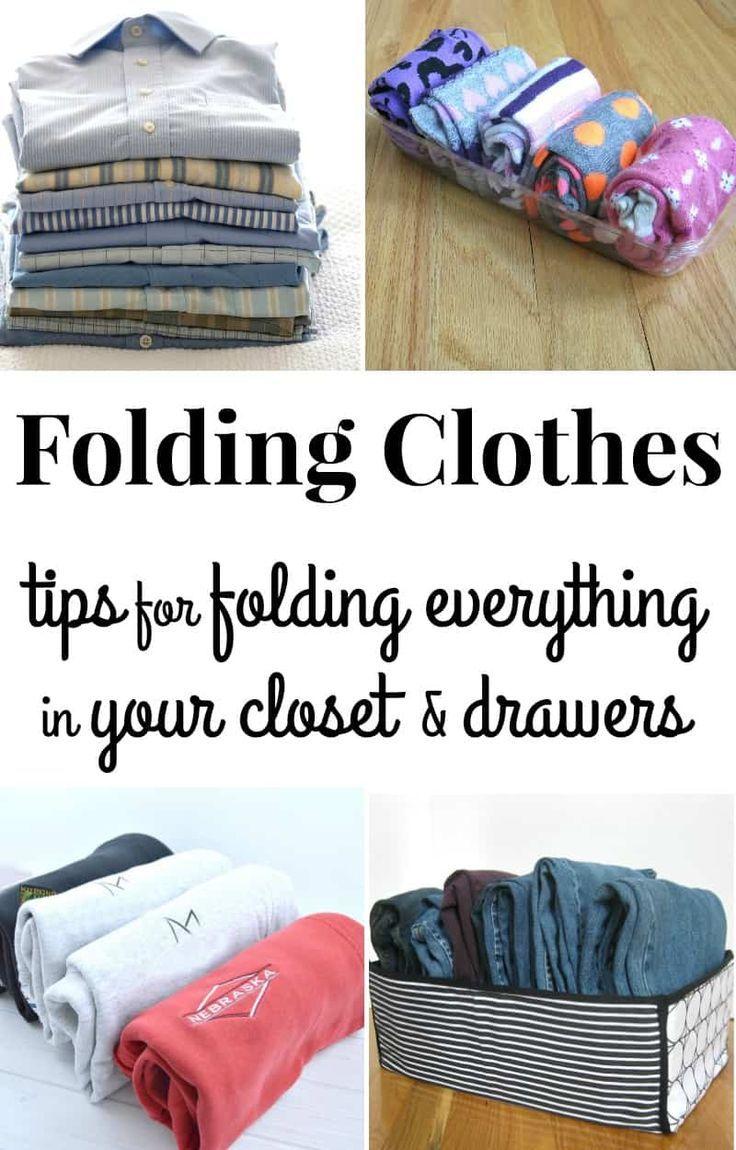 Folding Clothes - Organized 31