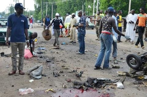 Three Killed as Two Suicide Bombers Attack Maiduguri