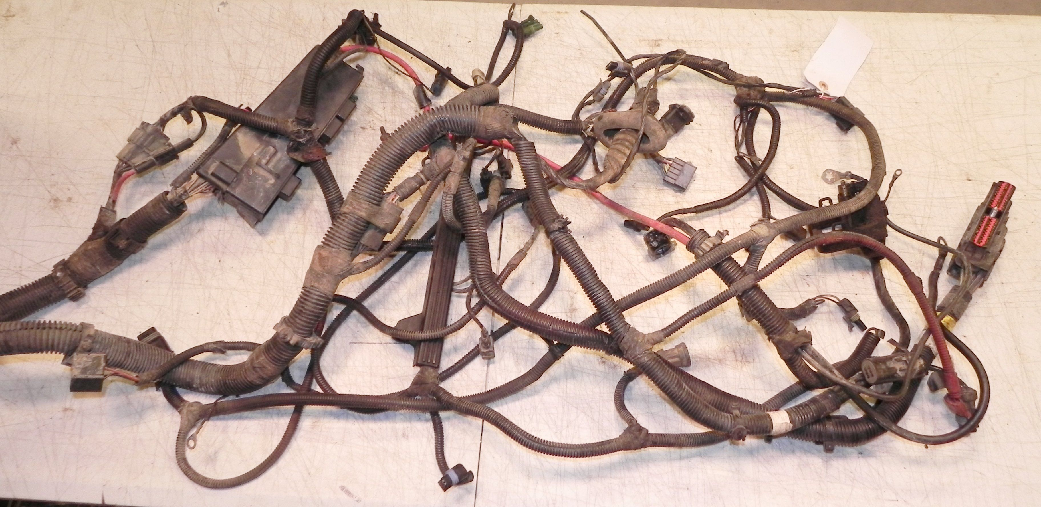 95 Jeep Yj Engine Wiring Harness Starting Know About Diagram Tj Wrangler 2 5l 4 Cyl 5 Spd 94 Oem Rh