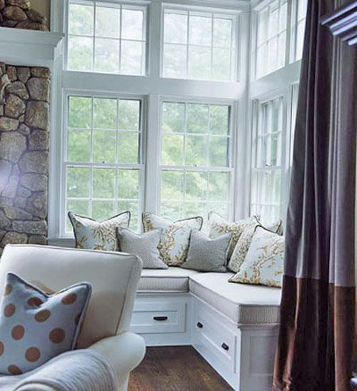 Pin By Shirley Sims On Window Seats Corner Seating Home Corner Window Seats
