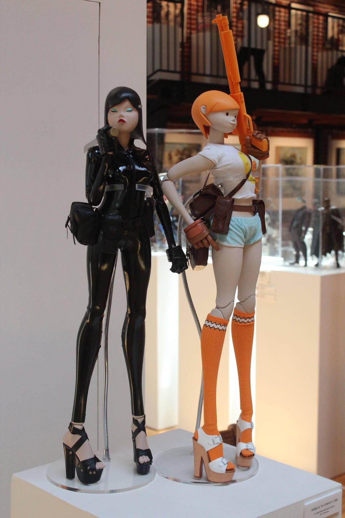 Ashley Wood art and toys on display at US VENTURE at Sparks Gallery. More pics here:  https://www.facebook.com/media/set/?set=a.1375549959232011.1073742098.171245289662490&type=1&l=8c208a0120 #threeA #AshleyWood #AshleyWoodArt #WorldOf3A #WO3A #USVENTURE #SDCC #SDCC2017 #SDCC17 #ComicCon #ComicConvention #SanDiego #SparksGallery #ArtShow #California