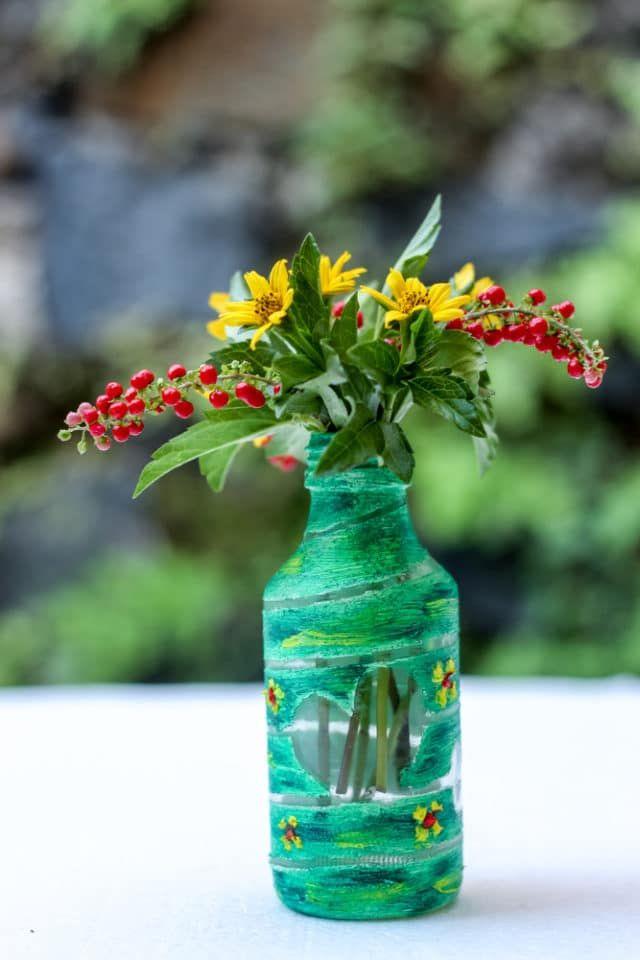 Come riciclare bottiglie di vetro in modo creativo nel ...