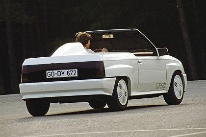 1982 Opel Corsa Spider Koncepty Opel Corsa Opel Cabriolets