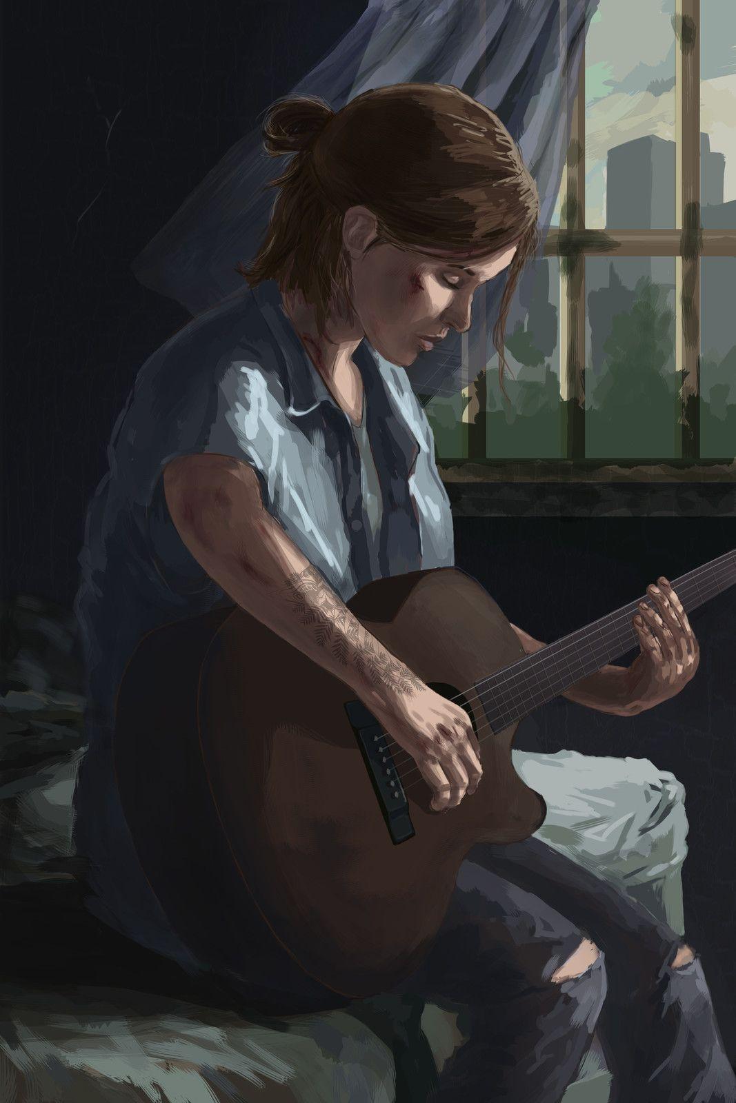Ellie From The Last Of Us Part 2 An Molica On Artstation At Https Www Artstation Com Artwork 3xa9g The Last Of Us The Last Of Us2 The Lest Of Us