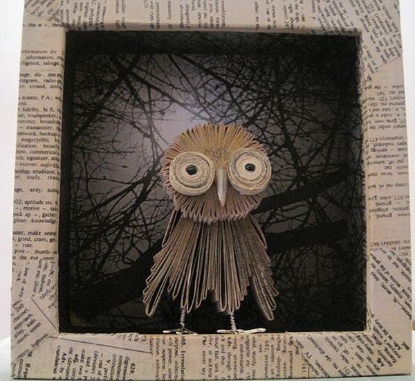 Owly Owly 8 very nice Examples Of Book Art - Buzzfeed