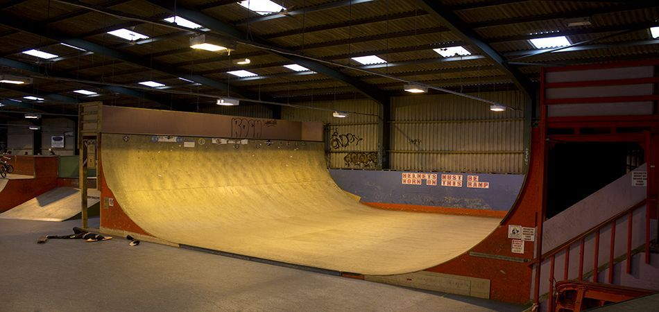 Found on Bing from Skate park, Indoor