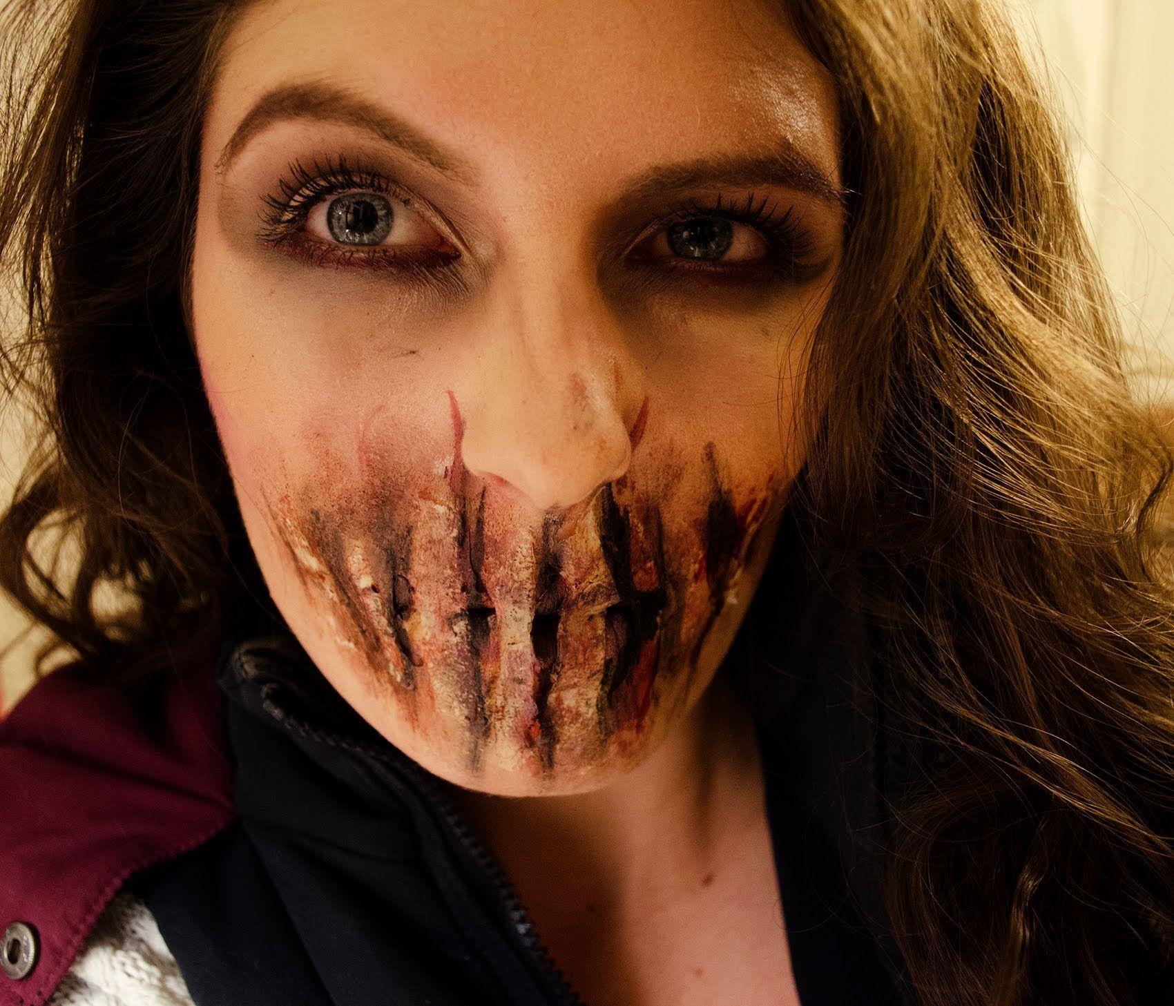 Bane sliced mouth sfx makeup facepaint tutorial stage makeup bane sliced mouth sfx makeup facepaint tutorial baditri Images