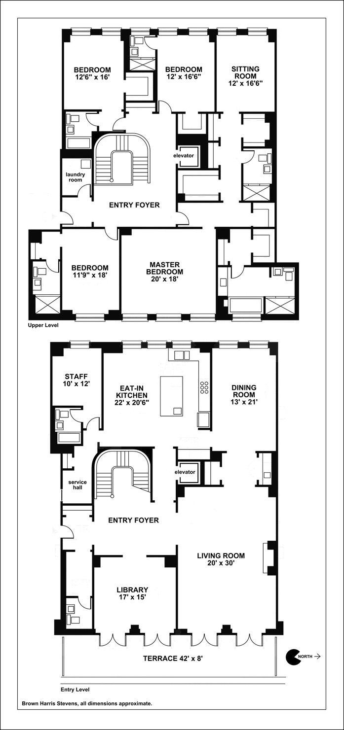 Cpw W9230070 Jpg 697 1481 Floor Plans Penthouse Apartment Floor Plan Apartment Floor Plans