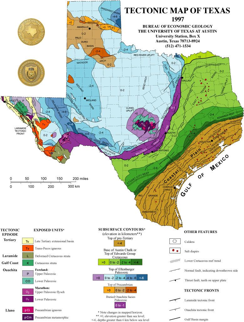 tectonic map of texas Shifting Plates 6 Earthquakes In 30 Days And Counting Texas