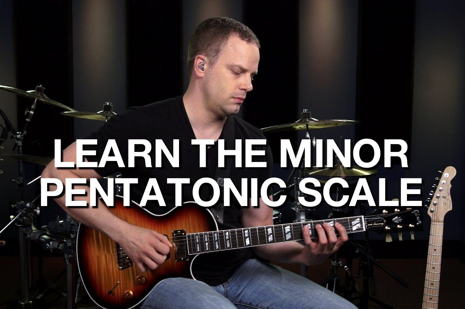 The Minor Pentatonic Guitar Scale Lead Guitar Lesson 5