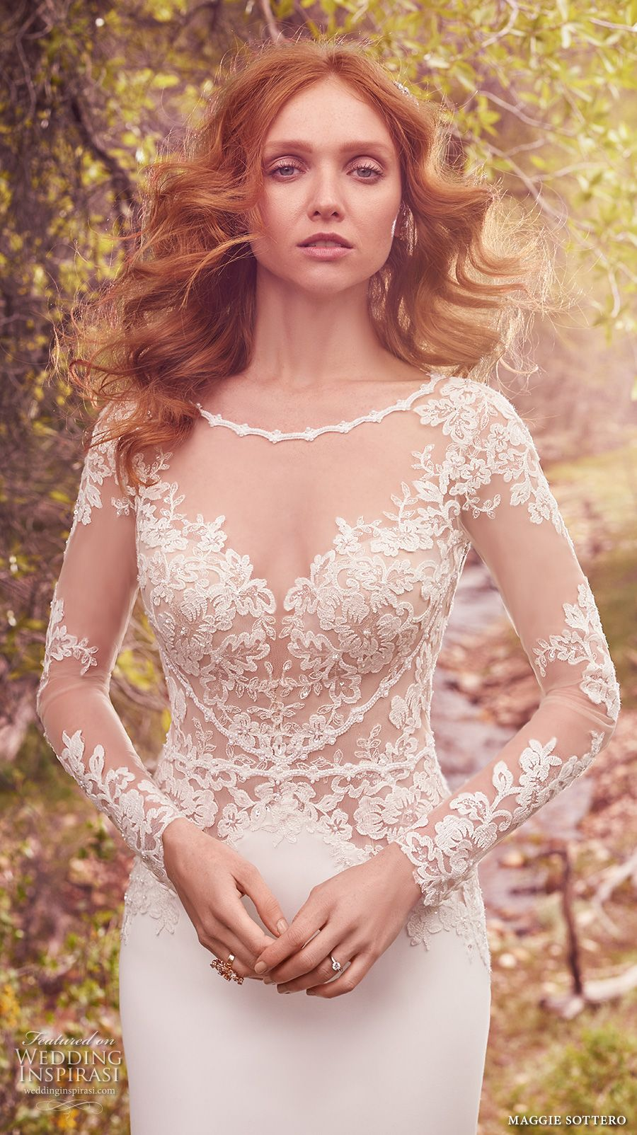 """Maggie Sottero Spring 2017 Wedding Dresses — """"Avery"""" Bridal Collection"""
