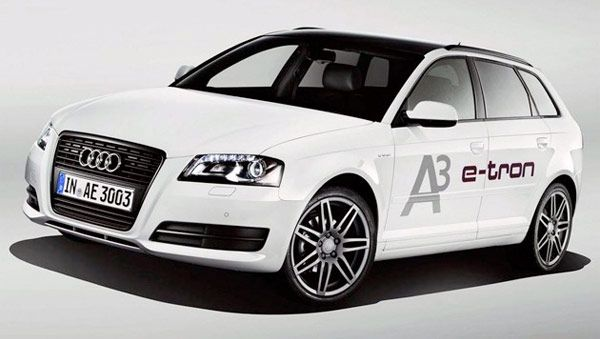 Audi's A3 E-tron. Electric Audi the best of both worlds.