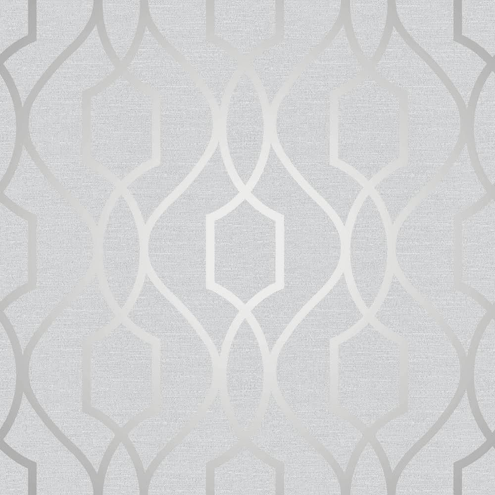 Silver wallpaper hallway  Apex Trellis Silver  Apex Collection  Pinterest  Wallpaper Wall