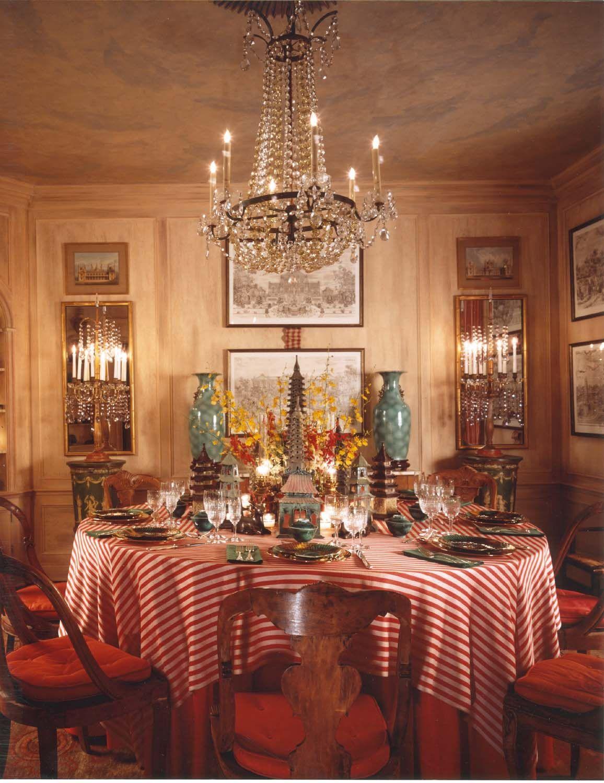 English Paneled Room: DESIGNER HUTTON WILKINSON, TONY DUQUETTE INC,, CREATED