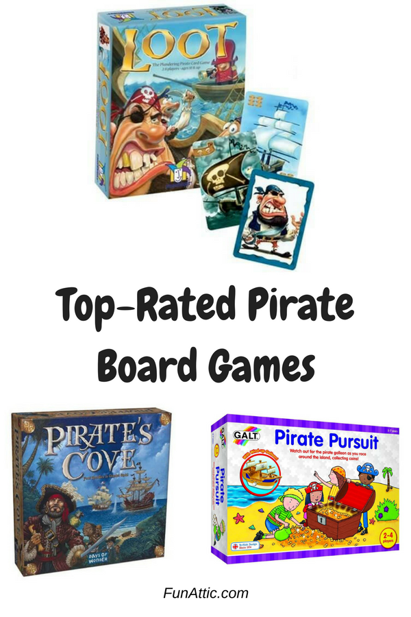Best Pirate Board Games Board games, Free activities for