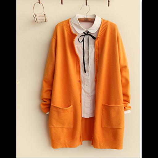 كارديجان قصير صوف ابيض وردي Rain Jacket Fashion Windbreaker