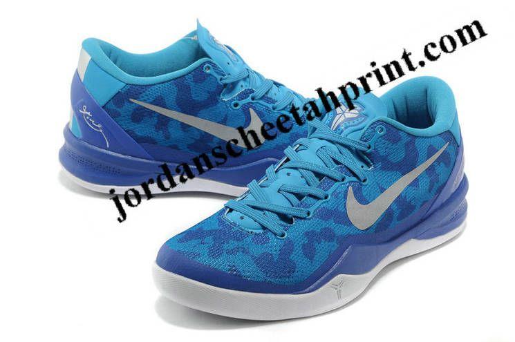 on sale 272b9 730fe Nike Kobe 8 System Blue Glow Pure Platinum