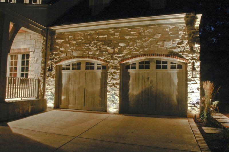 Garage Lighting Outdoor Accents