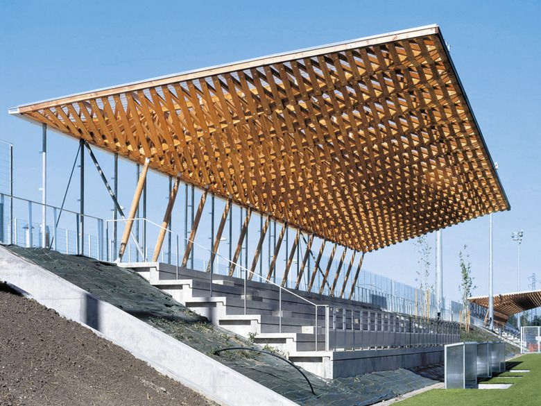 Grandstand Designs : Tribünenüberdachung in nanterre architecture and pavilion