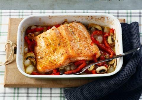 Idée recette : Saumon gratine aux petits legumes | Recette plat facile, Repas facile et rapide ...