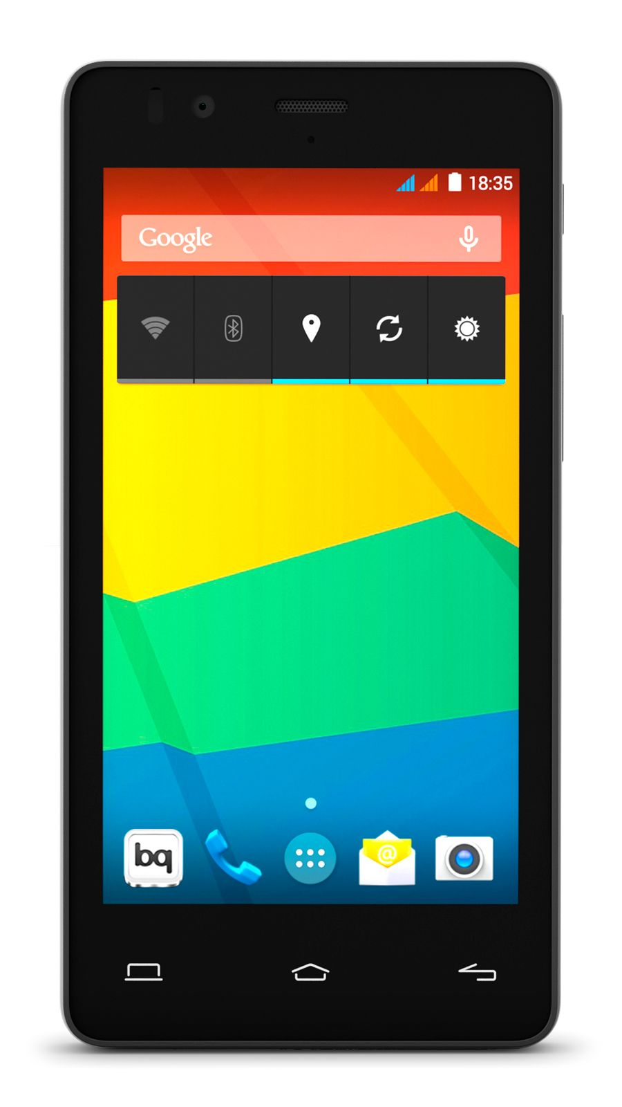 Pn 03bqaqu30 Smartphone Bq Aquaris E4 5 Black 4 5 Quadcore 1gb 8gb